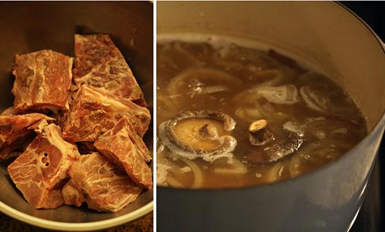 Gamjatang ~ Korean Pork Bone & Potato Soup 2