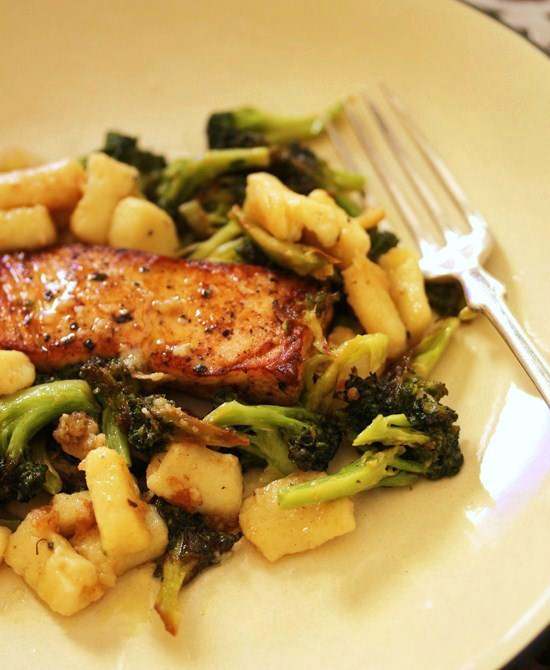 Ricotta Parmesan Gnocchi with Brown Butter Broccoli 5.1