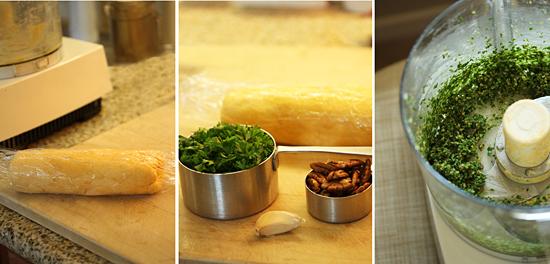 Cheddar Garlic Crackers 2