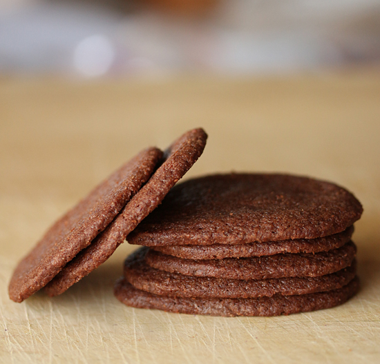 Chocolate Wafer Cookies 4
