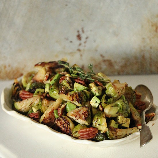 Roasted Brussels Sprouts 2
