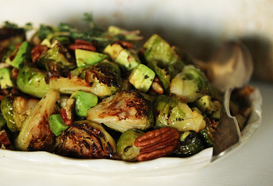 Roasted Brussels Sprouts 4