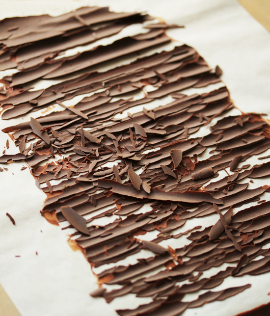 Post image for How to Make Chocolate Shards