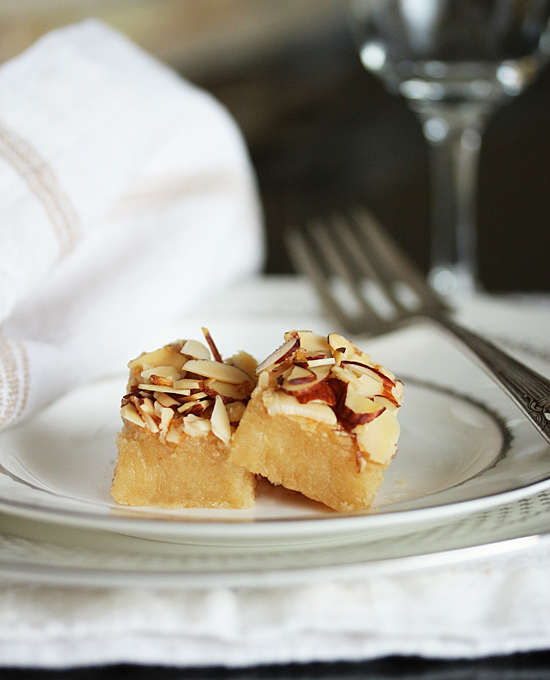Almond Bar Cookies 1