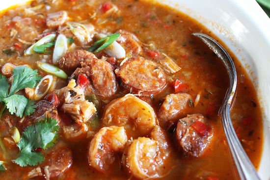 Gumbo ~ Shrimp, Chicken &  Andouille Sausage