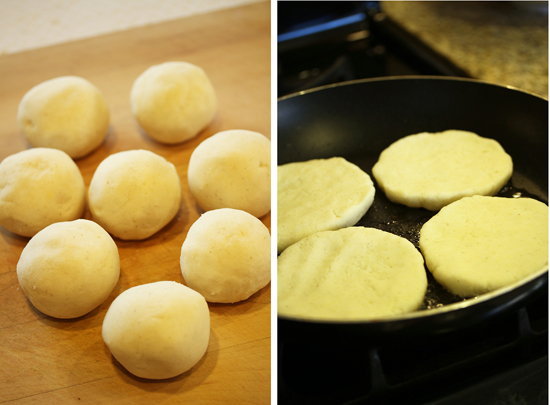Arepas ~ Venezuelian Corn Flour Flatbreads 4