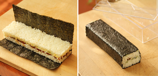 Hawaiian SPAM Musubi 7