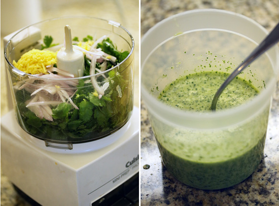 Nectarine & Corn Salad with Lime Ginger Cilantro Vinaigrette 3