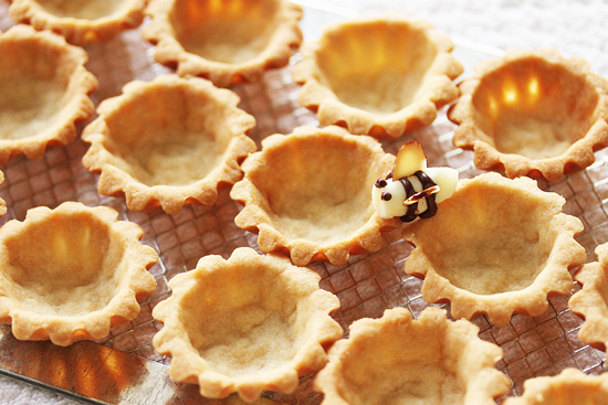 2 Mini Tart Shells, Food Art & an Optical Ilusion