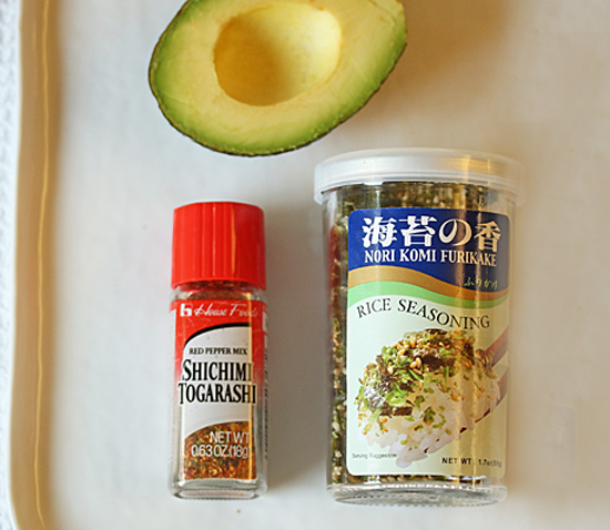 Avocado Toast with Nori Komi Furikake 2