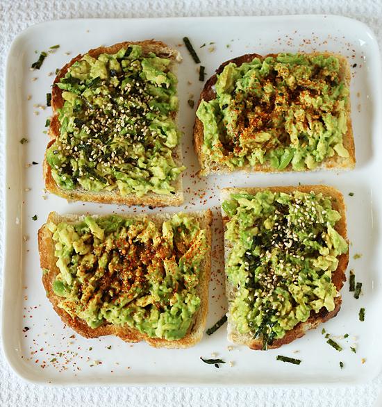 Avocado Toast with Nori Komi Furikake 3